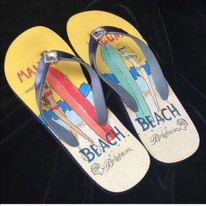 Brighton Flip Flops NWT size 9.